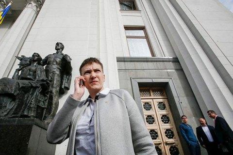 Савченко вызвалась стать переговорщиком по освобождению пленных
