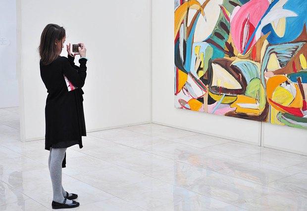 У Києві відкрилася виставка українсько-американської художниці (фото)
