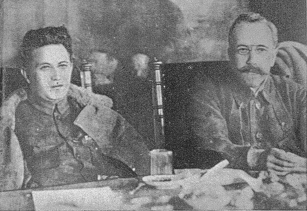 Григорий Зиновьев и Лев Каменев