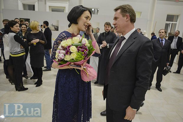 Соня Кошкина и Михаил Охендовский, председатель ЦИК