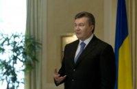 Янукович перед вильотом до Варшави зустрівся зі збірною України з футболу