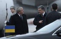 Порошенко прибыл в Минск для участия в переговорах