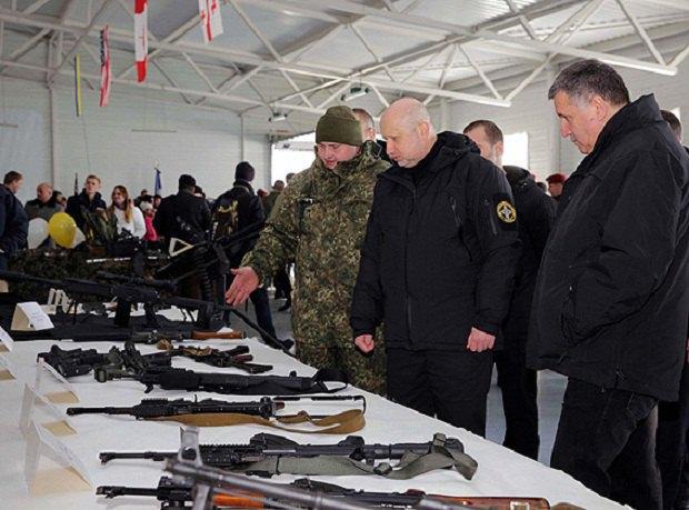 ВКиевской области открыли мемориал погибшим взоне АТО солдатам подразделения милиции