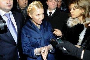 Тюремщики сказали, где проголосует Тимошенко