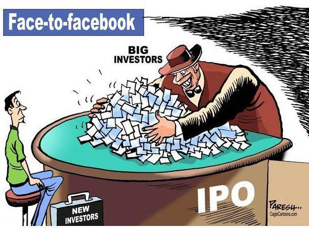 Лицом к Facebook: мелкие инвесторы и и крупные инвесторы