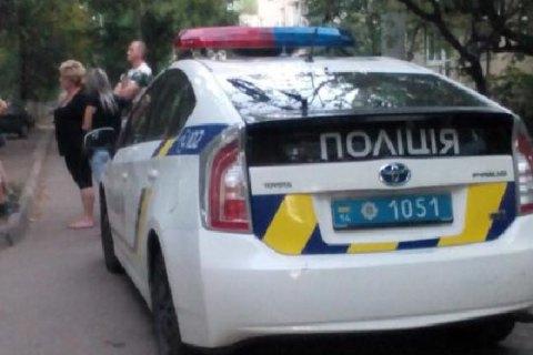ВоЛьвове машина патрульной милиции сбила ребенка
