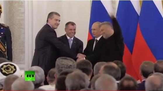 Путин и «власть» Крыма подписали договор о вхождении в состав России, фото-1