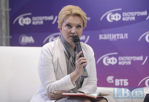 Раиса Богатырева, министр здравоохранения Украины