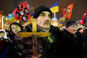 Активисты требуют у нардепов дежурить ночью на Майдане