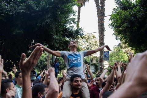 Египетская полиция разогнала участников антипрезидентских демонстраций в Каире