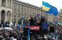 Милиция пересчитала людей на Евромайдане