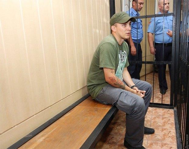 Задержанный Стерненко в суде
