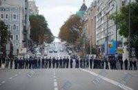 Под Киев стягивают дополнительные наряды милииции?