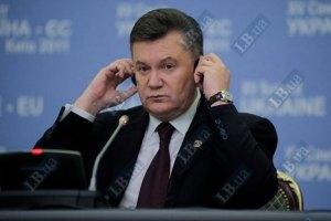 """Янукович сетует на отсутствие внешней помощи в решении """"газовой проблемы"""""""