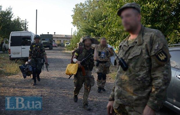 Бойцы Донбасса готовятся к отъезду