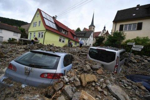 Из-за наводнения на юге Германии погибли 3 человека