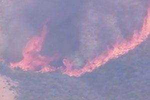 Крупный лесной пожар в Калифорнии спровоцировал эвакуацию местных жителей