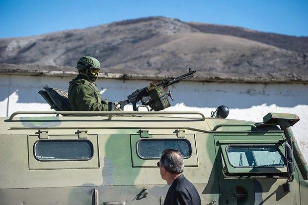 Военные РФ в Крыму