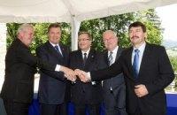 Рабочий визит Президента Украины в Польшу, город Висла, саммит «Вышеградской четверки»