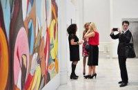 В Киеве открылась выставка украинско-американской художницы