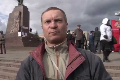 Один излидеров харьковского «Антимайдана» пытался пробиться в Российскую Федерацию