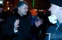 Порошенко освистали в Крыму
