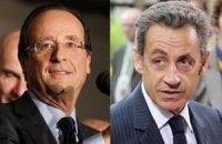 Саркозі наздоганяє Олланда напередодні другого туру