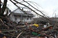 Число погибших из-за торнадо и наводнений на юге США возросло до 26 человек