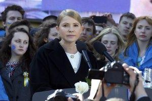 Тимошенко пообещала ветеранам отстоять целостность Украины