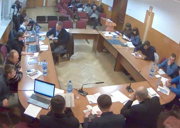 Під час засідання Черкаської ТВК