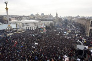 На Майдане началось 11-е Народное вече