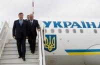 Янукович прибыл в Катар c официальным визитом