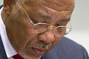 Екс-президента Ліберії засуджено до 50 років в'язниці