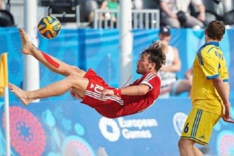 Борис Никоноров забил 1-ый мяч засборную РФ попляжному футболу