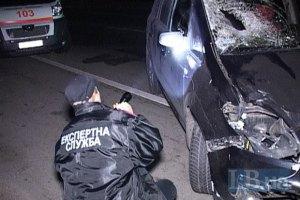 На Броварском шоссе возле Киева под колесами Opel погиб пешеход