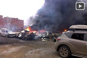 Террористы обстреляли Мариуполь