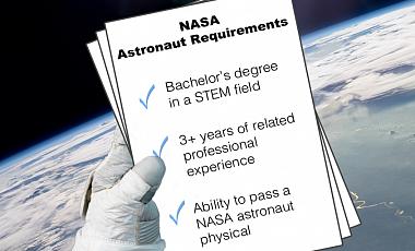 NASA объявило открытый набор астронавтов