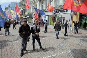 Милиция насчитала под Печерским судом 15 фанов Тимошенко