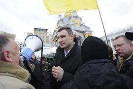 К предпринимателям присоединились Кириленко, Яценюк и Кличко