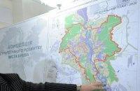 Киев и область определятся с границами