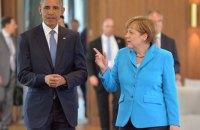 Обама и Меркель обсудили ситуацию на востоке Украины