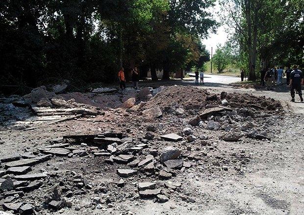 Последствия обстрела Донецка, заснятые журналистами издания www.ostro.org