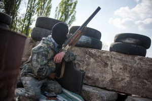 Силовики попали в засаду возле Краматорска