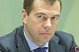 Медведев подписал закон об использовании армии за пределами России