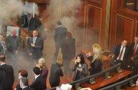 Оппозиция Косово сорвала первое в этом году заседание парламента