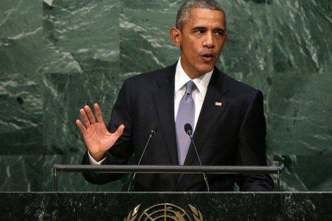 Обама выступил за дипломатическое решение украинского конфликта