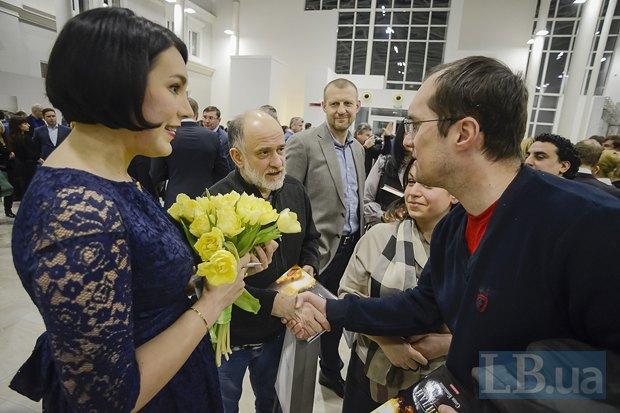 Соня Кошкина, Александр Ройтбурд, Юрий Бутусов