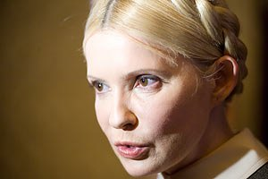Сторонники Тимошенко встретили Новый год под стенами колонии