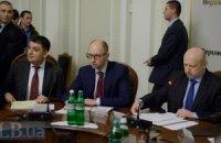 Яценюк: переговоры по Украине должны проходить в четырехстороннем формате