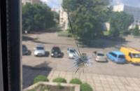 Неизвестный обстрелял Апелляционный суд Черкасской области